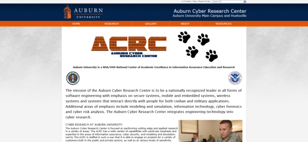 Auburn Cyber Research Center